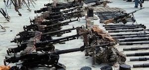 Carriage of arms, ammunition, explosive, military stores