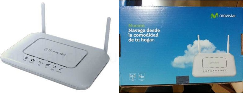 modem router movistar internet speedy doble antena blanco zte nucom homestation mayor alcance cobertura wifi delivery