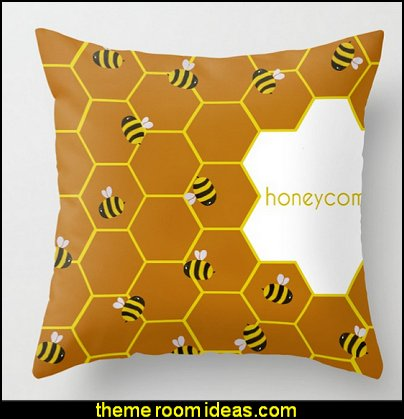 Honeycomb Throw Pillow  winnie the pooh bedroom ideas - winnie the pooh decor - Winnie the Pooh Theme - Winnie the Pooh bedding - Pooh And Piglet - winnie pooh and friends themed bedrooms - Eeyore decor - bee decor - honey bee decor - teddy bear baby bedroom theme - teddy bear chairs - winnie the pooh wall murals - Winnie the Pooh nursery decor - Winnie the Pooh wall stickers - winnie the pooh wall mural - Bumble bee bedroom ideas -