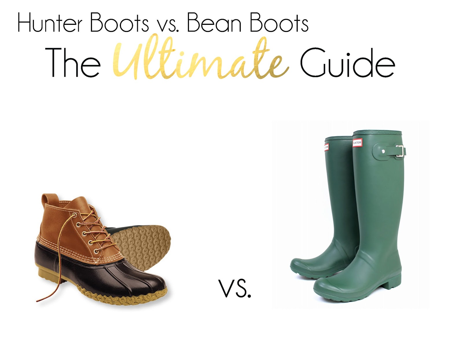 b76f0bae6e8c L.L. Bean Boots vs. Hunter Boots  The Ultimate Guide - PrepEssentials