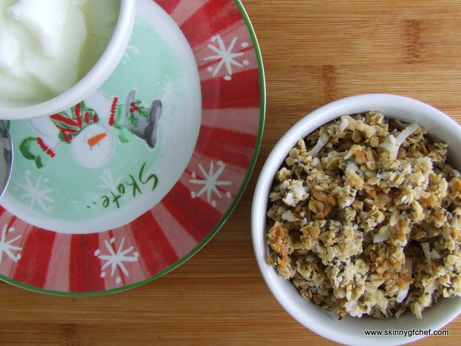 Gluten Free Chia Plus Coconut Granola Cereal Recipe, sugar free