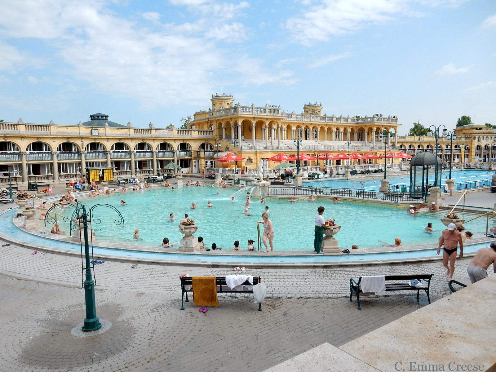 Szechenyi Baths 10 reasons luxury city break Budapest Hungary Adventures of a London Kiwi