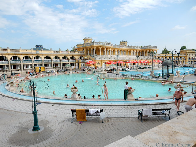 Szechenyi Baths 10 reasons luxury city break Budapest Hungary Adventures of a London Kiwi