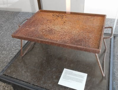 Was this rusty BBQ plate made from the Boggo Road gallows platform?