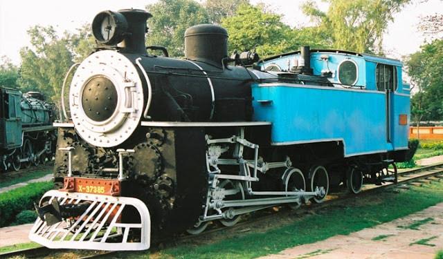 National Rail Museum in Chanakyapuri