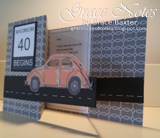 VW Bug Shutter Card, designed by Grace Baxter