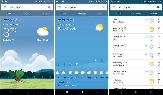 Google Is Testing New Colorful Weather Cards With More Functionality
