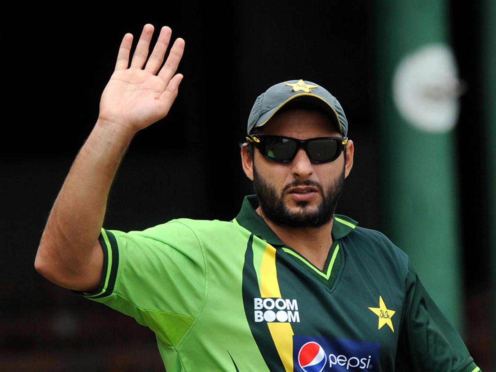 Pakistan Boom Boom Sahid Afridi High Resolution Wallpapers