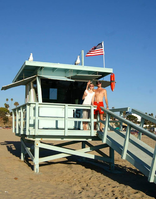 santa monica safe guard cabin baywatch