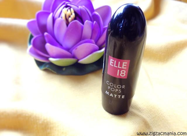 Elle 18 Color Pops Matte Lipstick Mauve Date: Color, Price, availability & packaging