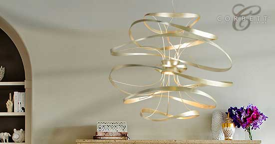Calligraphy Collection by Corbett Lighting