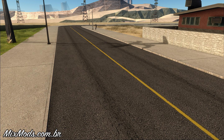 SA:Roads (Novas ruas HD) - | MixMods | Mods para GTA SA e outros