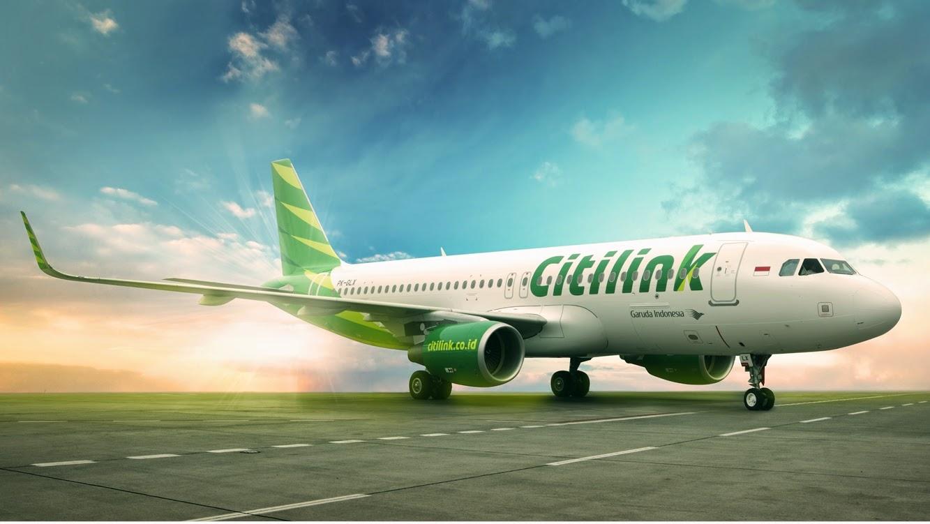Rute Tujuan Penerbangan Domestik Citilink Dari Padang