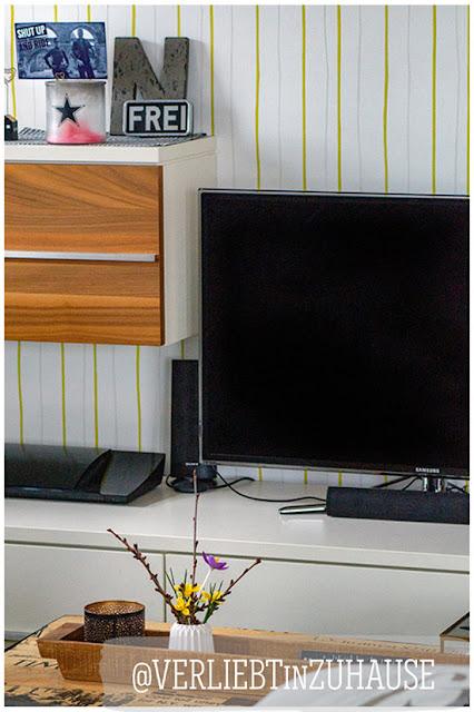 #Fridayflower und #Frühlingsgefühle im Wohnzimmer -Verliebt in Zuhause