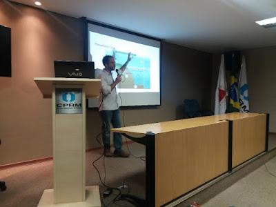 Pesquisador do Serviço Geológico do Brasil apresenta pesquisa de doutorado sobre fosfato sedimentar