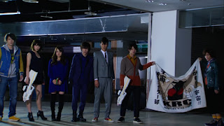 Movie Wars Ultimatum Kamen Rider Club Gentaro Ryusei Tomoko J.K. Shun Miu