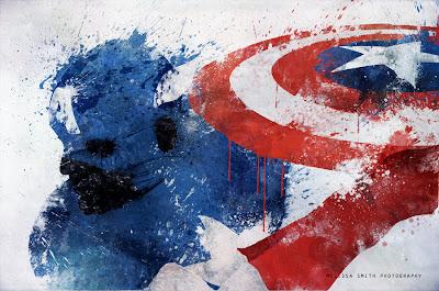 Capitán América pintura