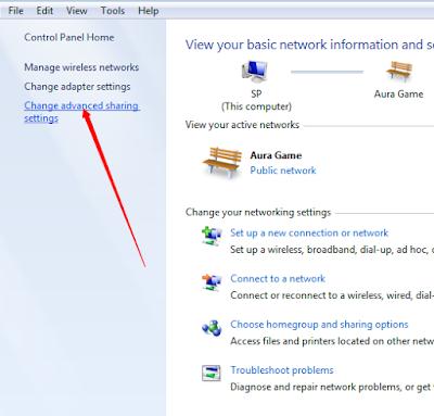 Menyambungkan PS3 Ke Laptop Dengan LAN 6