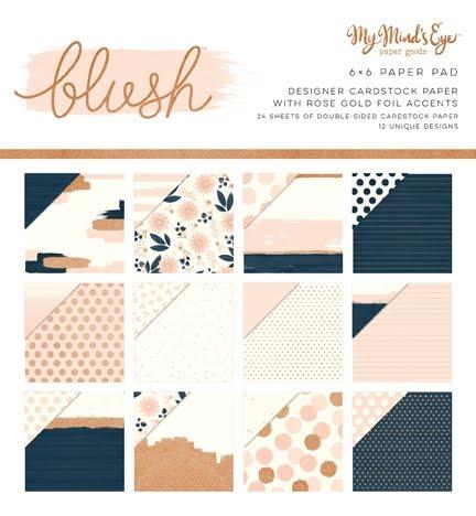MME - Blush 6 x 6