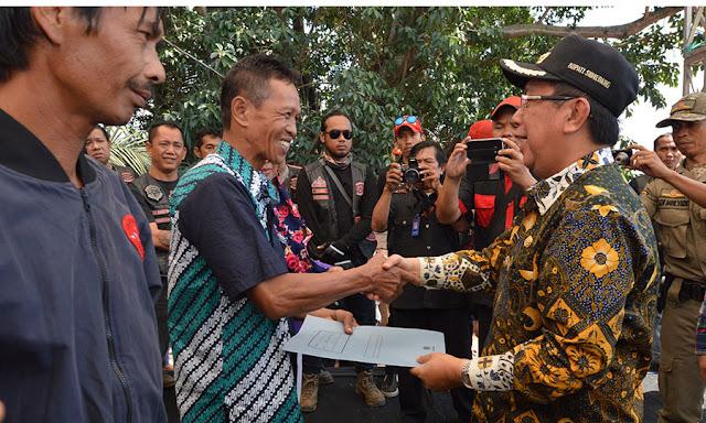 600 KK warga Desa Margalaksana kini punya Sertifikat