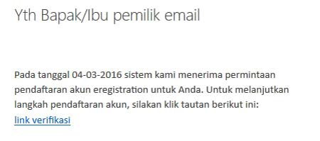 Pengalaman Registrasi NPWP Secara Online