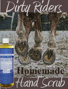 Dirty Rider's Homemade Hand Scrub