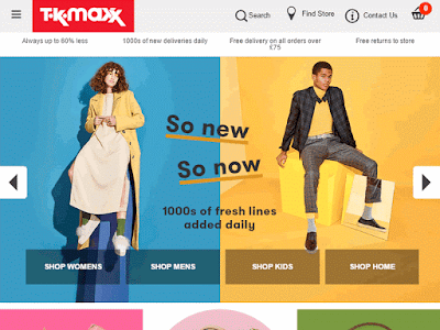 TK Maxx is a popular destination for top brand products at cheap prices