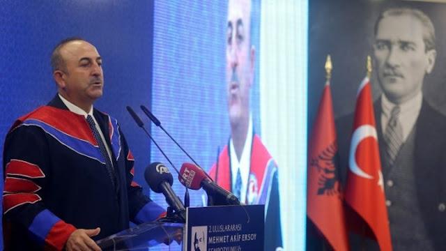 Νέα τουρκική πρόκληση για τα νησιά του Αιγαίου από τον Μεβλούτ Τσαβούσογλου