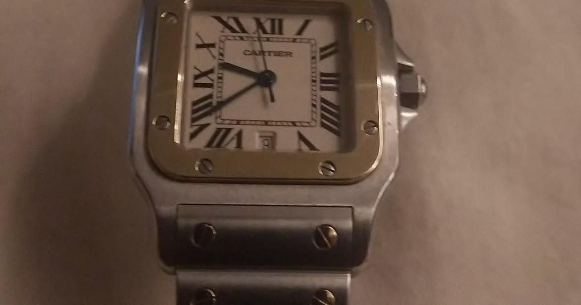 cheap for discount 400c5 da33f 南青山に住むサラリーマンのブログ: カルティエの時計の電池交換 ...