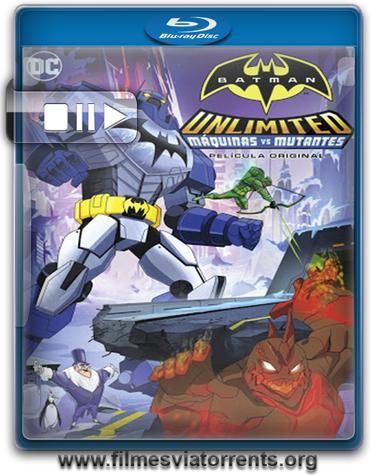 Batman Sem Limites: Mechas vs. Mutantes Torrent - BluRay Rip 720p e 1080p Dublado