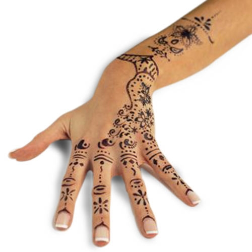 Girls Tattoo Design Mehndi Tattoo Stencils