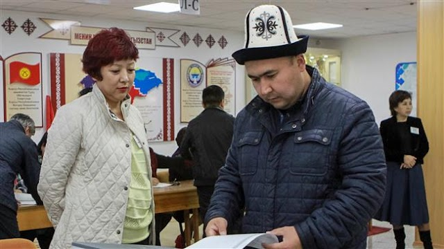 Kyrgyzstan voting for new president in historic election