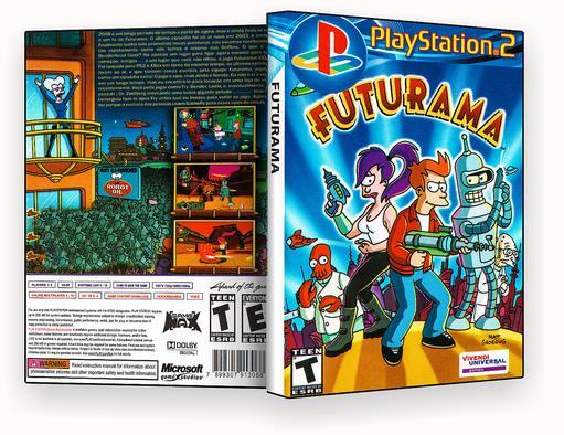 JOGO PS2 – Futurama PS2 – ISO