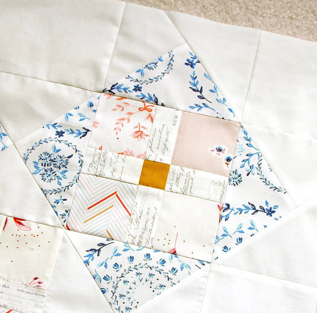 Cut Glass quilt by Amy Sinibaldi found on A Bright Corner - pattern from the Fresh Fat Quarter Quilts Book by Andy Knowlton