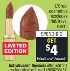 loreal makeup cvs deals