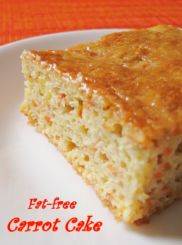 Fat Free Carrot Cake 111