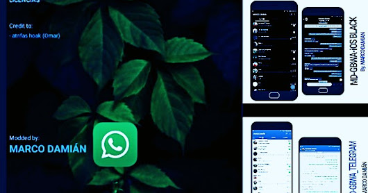 GB Whatsapp v6.40 Latest Update NEw Remod iOS White & Black Style Mods Edition Version Creator By MARCO DAMIÁN Download Now