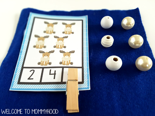 Arctic themed activities and printables unit study by Welcome to Mommyhood #montessori, #preschoolactivities, #montessoriactivities, #homeschoolactivities, #totlabs, #printables