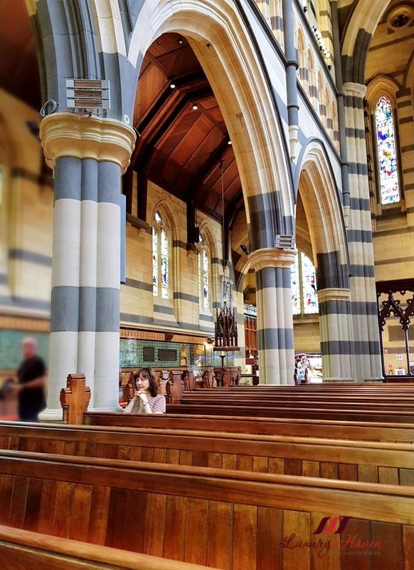 saint paul cathedral melbourne interior venetian glass mosaics