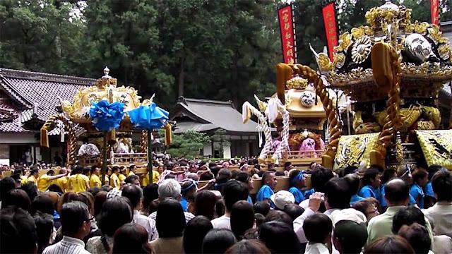 Autumn Festival at Iwa Jinja Shrine, Shiso City, Hyogo Pref.