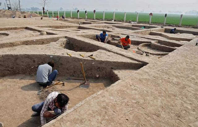 Excavations at Kunal village open up more doors to pre-Harappan period