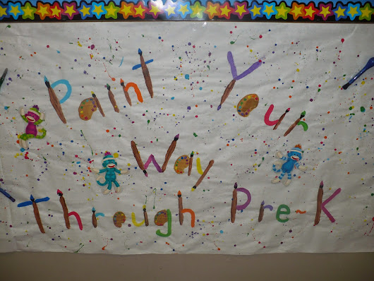 Paint Your Way Through Pre-K
