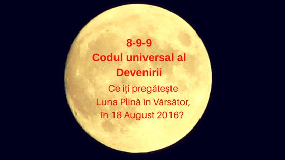 Cod Universal al devenirii 8-9-9