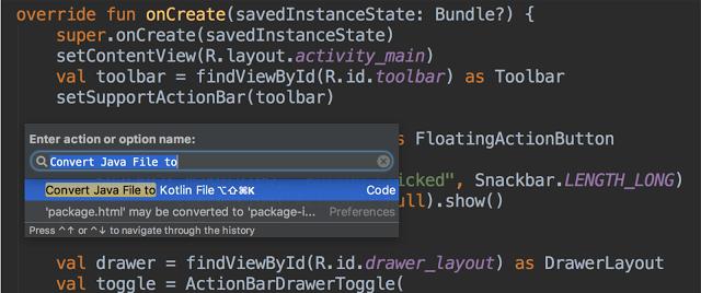 Kotlin Bahasa Pemrograman baru untuk mendukung Android Studio 3.0