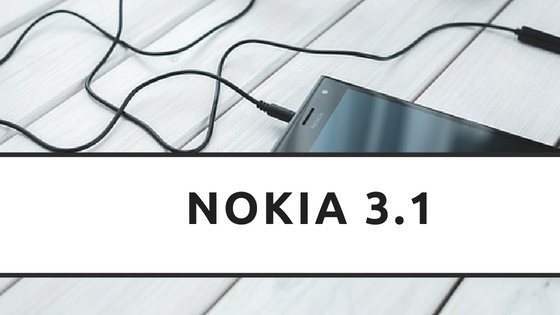 Nokia 3.1 Android One