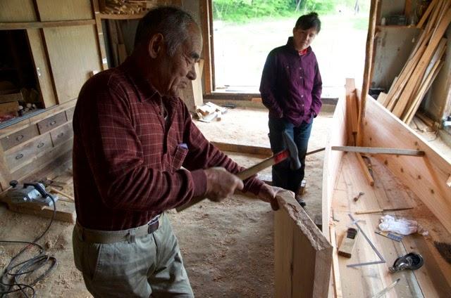 Woodworking Apprenticeship Japan