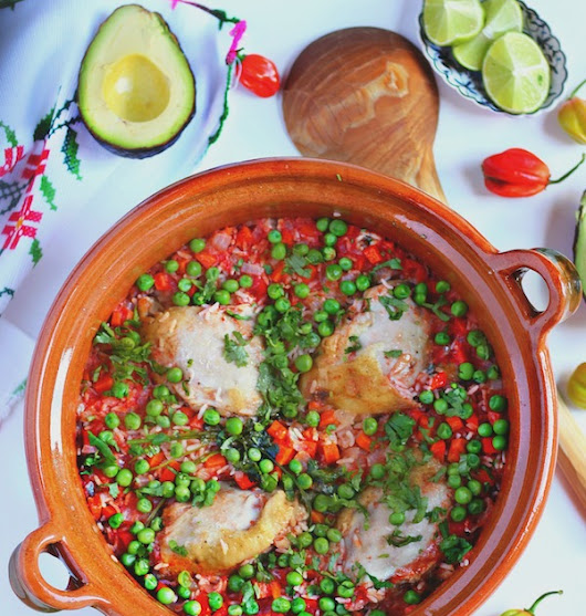 Arroz con Pollo - Chicken with rice