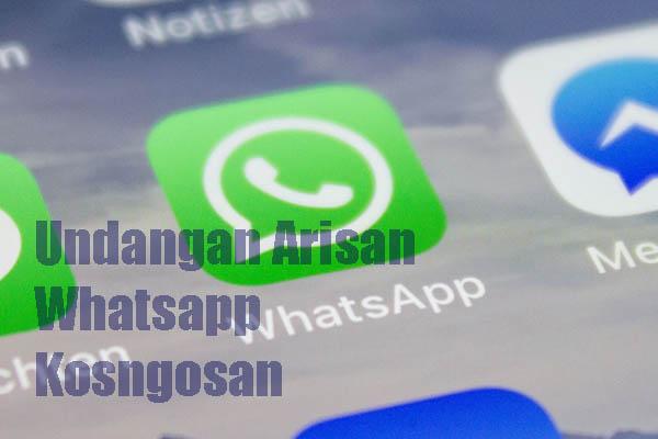 Contoh Undangan Arisan Keluarga via WhatsApp dan SMS
