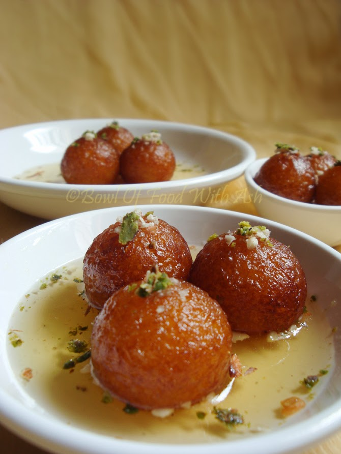 Gulab Jamun ( using Milk Powder) Recipe