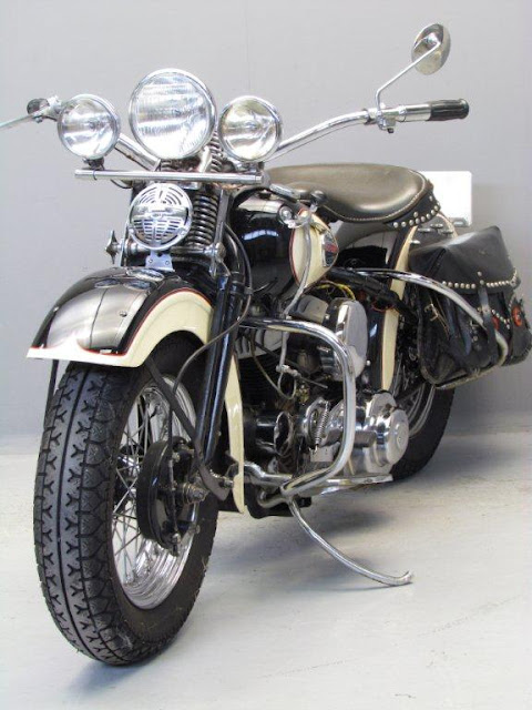 Harley Davidson Model WL 1942 750cc